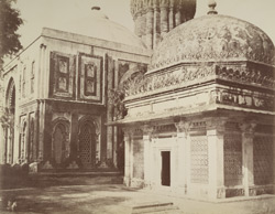 Tombs about the Kootub, [Delhi].